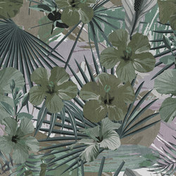 Hibiscus 1 | Wall coverings / wallpapers | Architects Paper