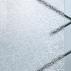 Madras® Textures | Crossing Glossy | Decorative glass | Vitrealspecchi