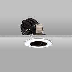 Flush 50 White Wide 2700K Flush Plaster-in | Recessed ceiling lights | John Cullen Lighting