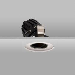 Flush 50 White Wide 2700K Recessed Plaster-in | Recessed ceiling lights | John Cullen Lighting