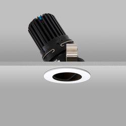 Flush 50+ White Narrow 3000K Flush Plaster-in | Recessed ceiling lights | John Cullen Lighting