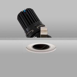 Flush 50+ White Wide 3000K Recessed Plaster-in | Recessed ceiling lights | John Cullen Lighting