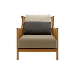 Elizabeth Teck | Armchair Complete Item Indoor (Oiled Finish) | Armchairs | Ligne Roset