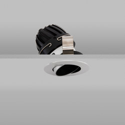 Polespring 50 Aluminium Wide 2700K | Plafonniers encastrés | John Cullen Lighting