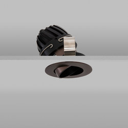 Polespring 50 Bronze Medium 2700K | Plafonniers encastrés | John Cullen Lighting