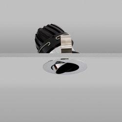 Polespring 50 Chrome Wide 2700K | Plafonniers encastrés | John Cullen Lighting