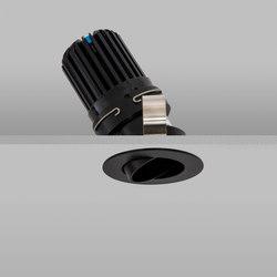 Polespring 50+ Black Medium 3000K | Plafonniers encastrés | John Cullen Lighting