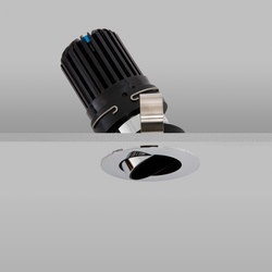 Polespring 50+ Chrome Narrow 2700K | Plafonniers encastrés | John Cullen Lighting