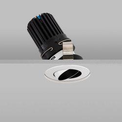Polespring 50+ White Narrow 2700K Recessed Plaster-in | Plafonniers encastrés | John Cullen Lighting