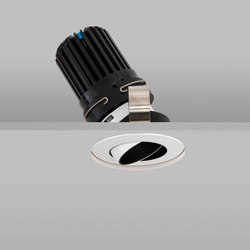 Polespring 50+ White Wide 2700K Recessed Plaster-in | Plafonniers encastrés | John Cullen Lighting