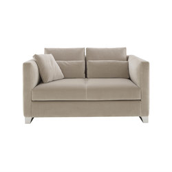 Estienne | Medium Settee High Steel Feet Complete Item | Sofas | Ligne Roset