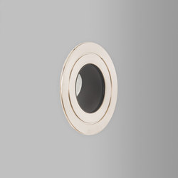 Riena Nickel 2700K | Lampade parete incasso | John Cullen Lighting