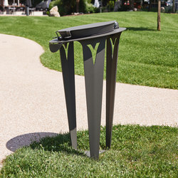 Vigilante Urban Trash Sorting Bin | Waste baskets | TF URBAN