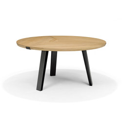 Side-To-Side Round Table | Tavoli pranzo | QLiv