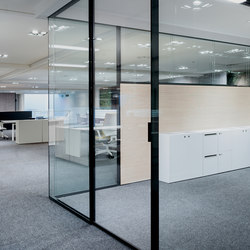I-Wallflush | Wall partition systems | Fantoni