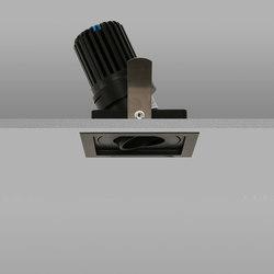 Square Trim 50+ Black Medium 2700K | Recessed ceiling lights | John Cullen Lighting