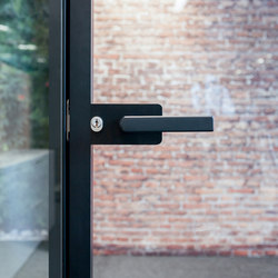 I-Wallflush | Handle sets for glass doors | Fantoni