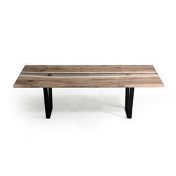 Undergrowth | Creek Table Walnut | Tables de repas | Alcarol