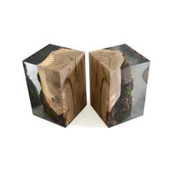 Undergrowth | Stump Stool Walnut | Mesas auxiliares | Alcarol