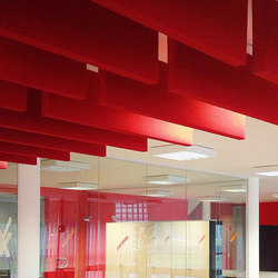 Class ceiling Baffles | Sound absorbing suspended panels | Soundtect