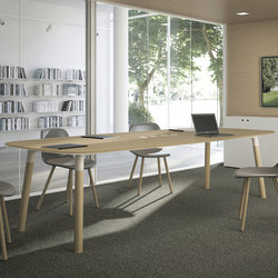 Woods | Desks | Fantoni
