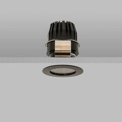 Waterspring 40 Black Medium 2700K | Lampade soffitto incasso | John Cullen Lighting