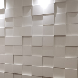Cubism | Sound absorbing wall systems | Soundtect