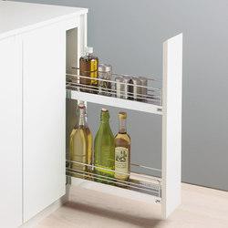 150 mm base unit pull-out | Kitchen organization | peka-system