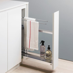 150 mm base unit pull-out | Kitchen organization | peka-system