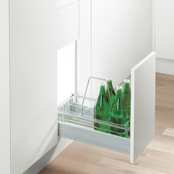 Bottle Basket | Kitchen organization | peka-system