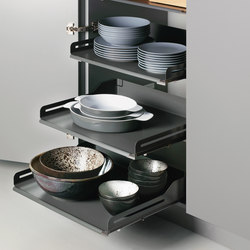 Extendo larder unit   Kitchen organization   peka-system