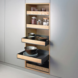 Extendo larder unit | Kitchen organization | peka-system