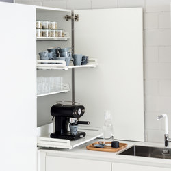 Extendo dresser pull-out | Kitchen organization | peka-system