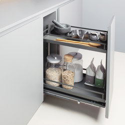 Junior Base Unit Pull-out | Kitchen organization | peka-system