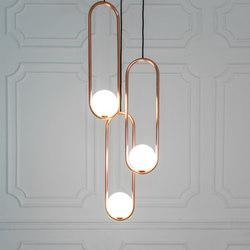 Mila | Suspended lights | Matthew McCormick Studio