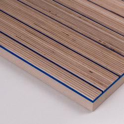 Plexwood Acoustic - Wool felt rigid   Wood panels   Plexwood