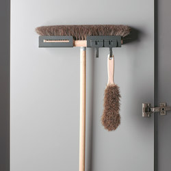 Libell Broom Holder | Kitchen organization | peka-system