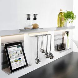 Linero MosaiQ rail system | Kitchen organization | peka-system