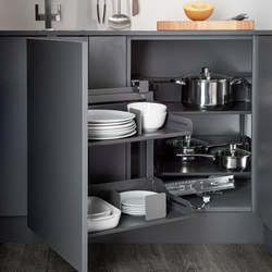 Magic Corner Standard Corner Pull-out | Kitchen organization | peka-system