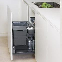Oeko Complet Sistema di rifiuti | Organizzazione cucina | peka-system