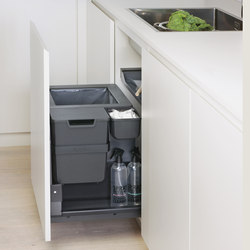 Oeko Complet Waste System | Kitchen organization | peka-system