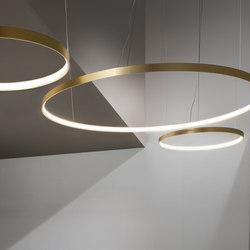 Zero Round | Suspended lights | Panzeri