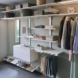 Pecasa Dressing | Walk-in wardrobes | peka-system