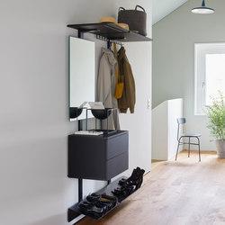 Pecasa Hallway | Shelving | peka-system