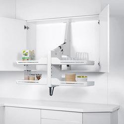 Pegasus Shelf Lift | Kitchen organization | peka-system