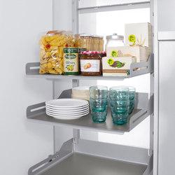 Pleno Hochschrank larder pull-out   Kitchen organization   peka-system