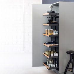 Pleno Hochschrank larder pull-out | Kitchen organization | peka-system