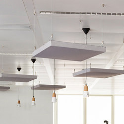 Class Above | Sound absorbing suspended panels | Soundtect