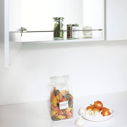 Spica Shelf Rail | Kitchen organization | peka-system