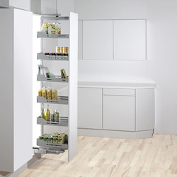 Swing Hochschrank Larder Pull-out | Kitchen organization | peka-system